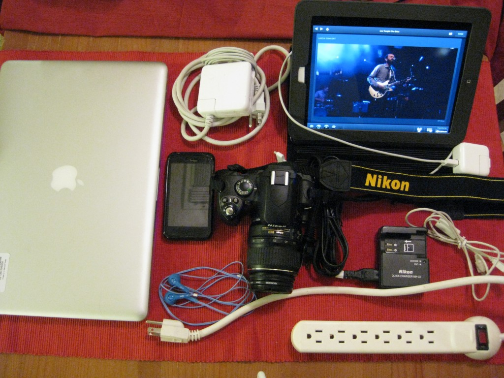 At SXSWi, taking only this much tech gear makes me a luddite.